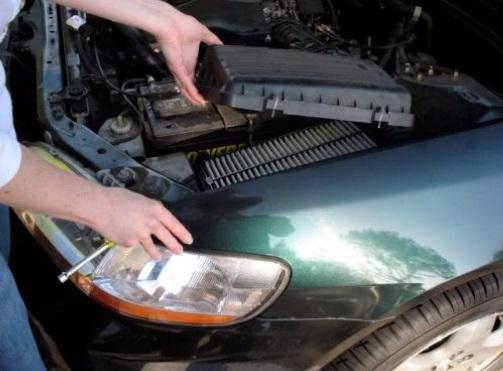 Filtro de ar carro