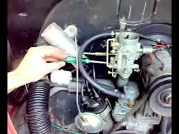 Fusca - como regular o motor