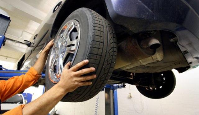 rodízio de pneus do seu carro