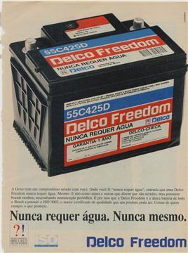 Propaganda da bateria que revolucionou o mercado brasileiro.