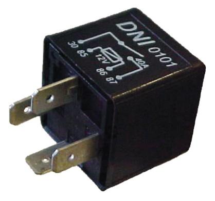 Este é um relé auxiliar básico de uma saída auxiliar.