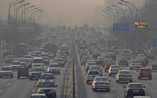 carro e a poluição