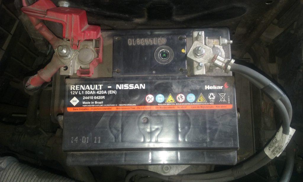Bateria do Sandero